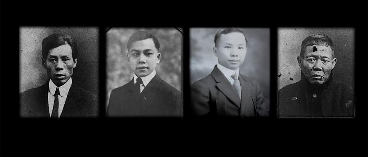 Los supervivientes chinos del 'Titanic'.