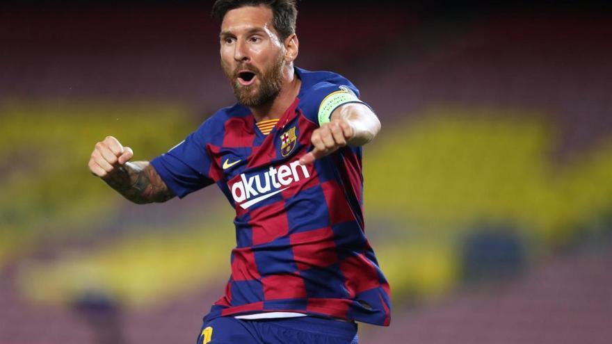 Leo Messi anuncia que segueix en el FC Barcelona