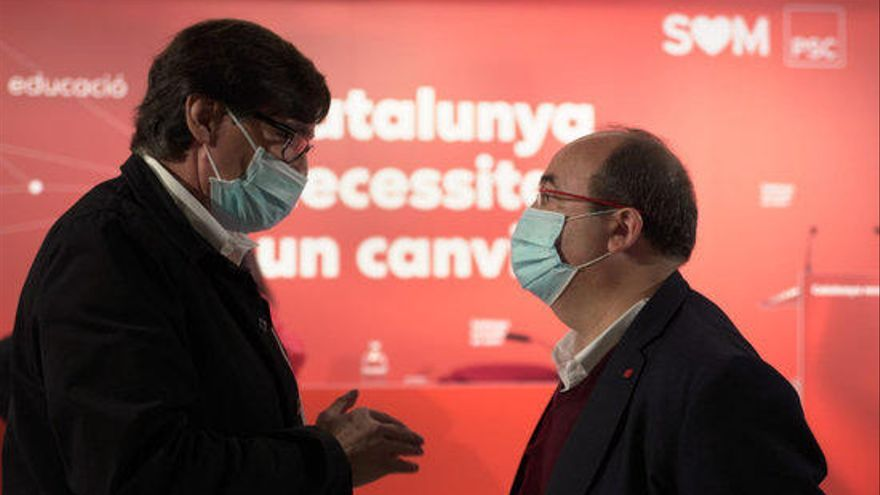 El PSC situarà el ministre de Sanitat com a cap de llista a les eleccions al Parlament