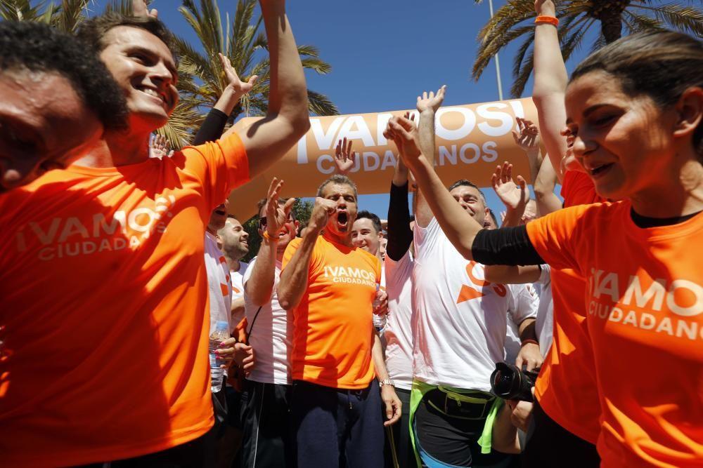 Carrera Ciudadana en el cauce del Turia en València