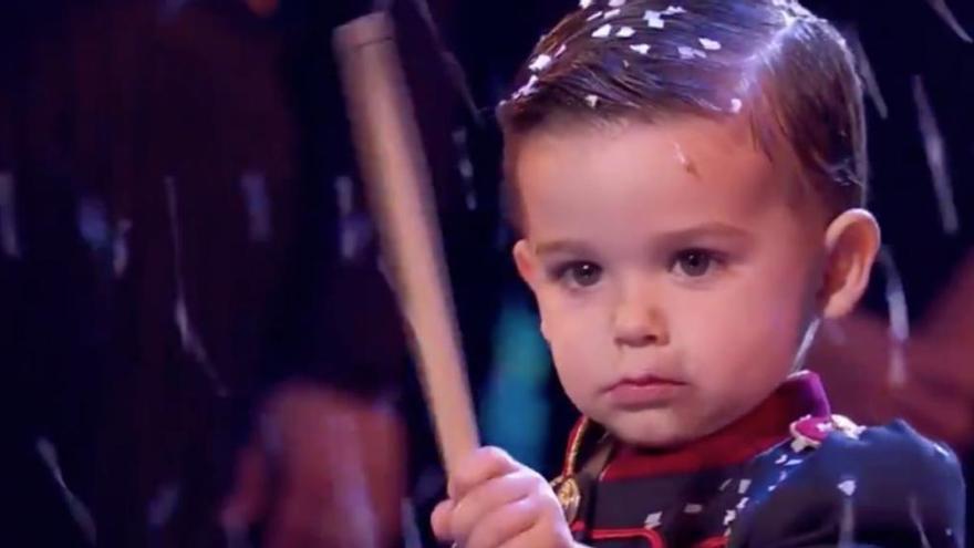 Hugo Molina, de només tres anys, guanya 'Got Talent'