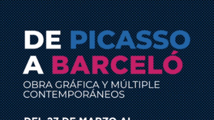 Exposición De Picasso a Barceló: Obra gráfica y múltiple contemporáneos