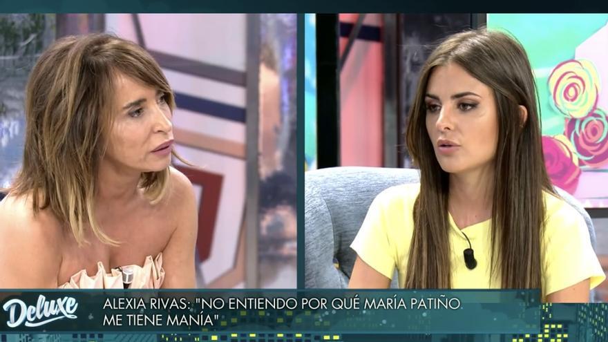"""Reproches entre María Patiño y Alexia Rivas en su cara a cara más tenso: """"No teníamos buena sintonía"""""""