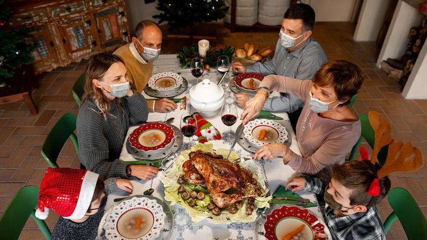 Consejos para acabar la Navidad sin contagios
