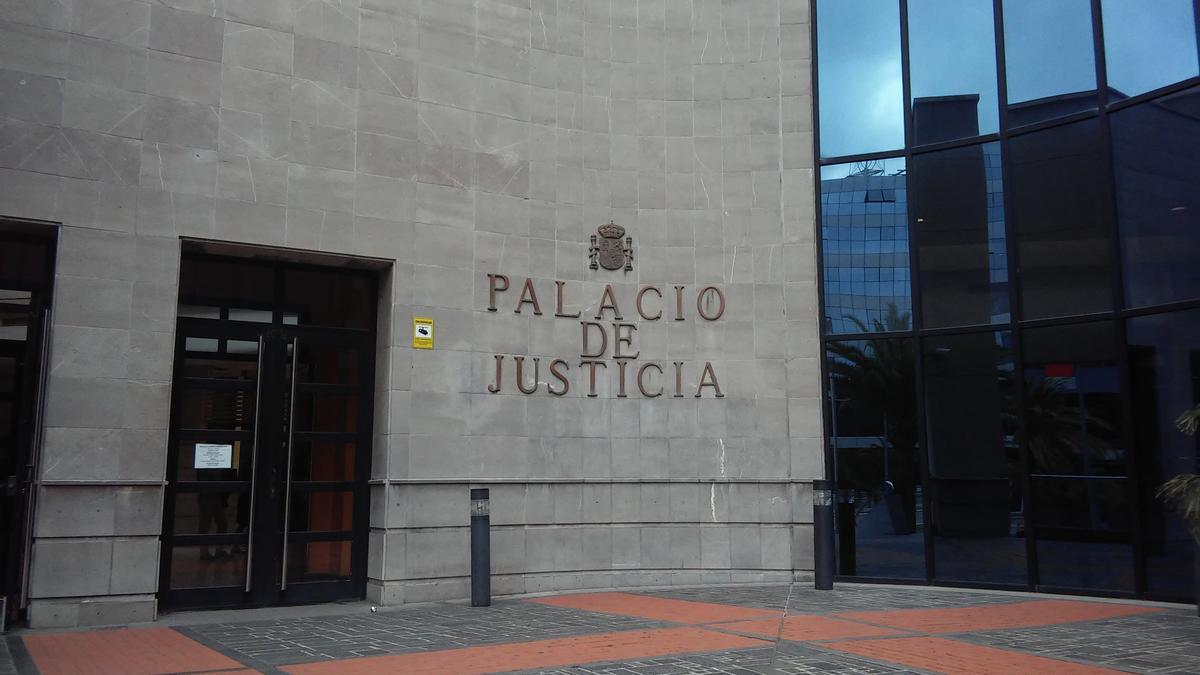 Palacio de Justicia de Santa Cruz de Tenerife.