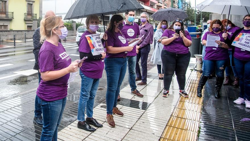 Actos en Las Palmas de Gran Canaria por el 8M