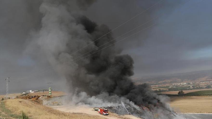 La Guardia Civil determina que el fuego de Recicor XXI fue fortuito