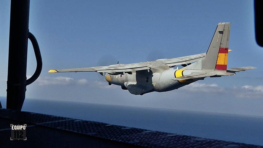El Ejército del Aire, al rescate de un desaparecido en el mar en 'Equipo112'