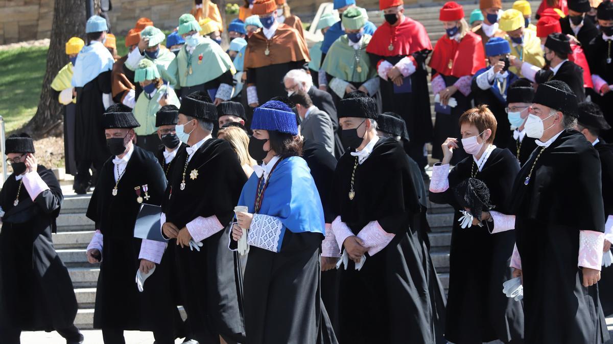El Rey Felipe VI inaugura el curso universitario en la UCO