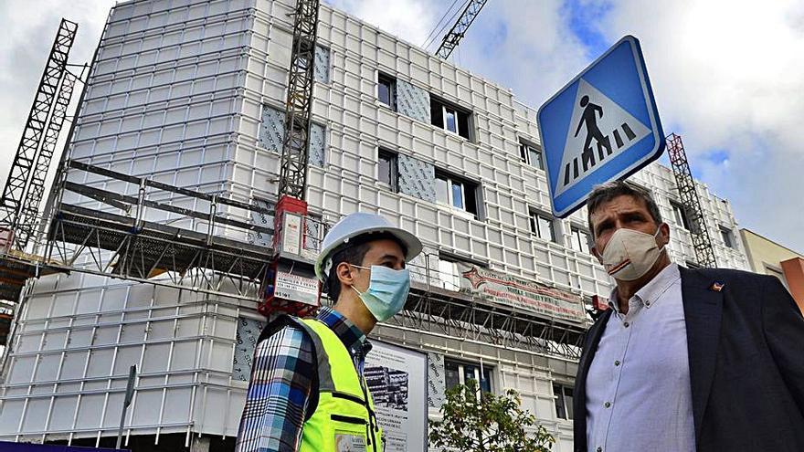 Urbanismo prevé terminar en verano 118 viviendas del ARRU Tamaraceite