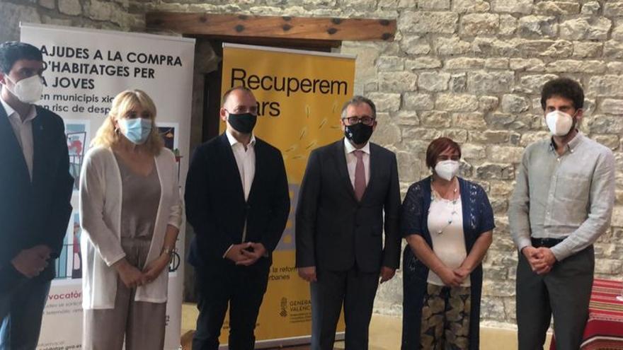 Dalmau anuncia en Morella 2,4 millones en ayudas para vivienda en pueblos pequeños