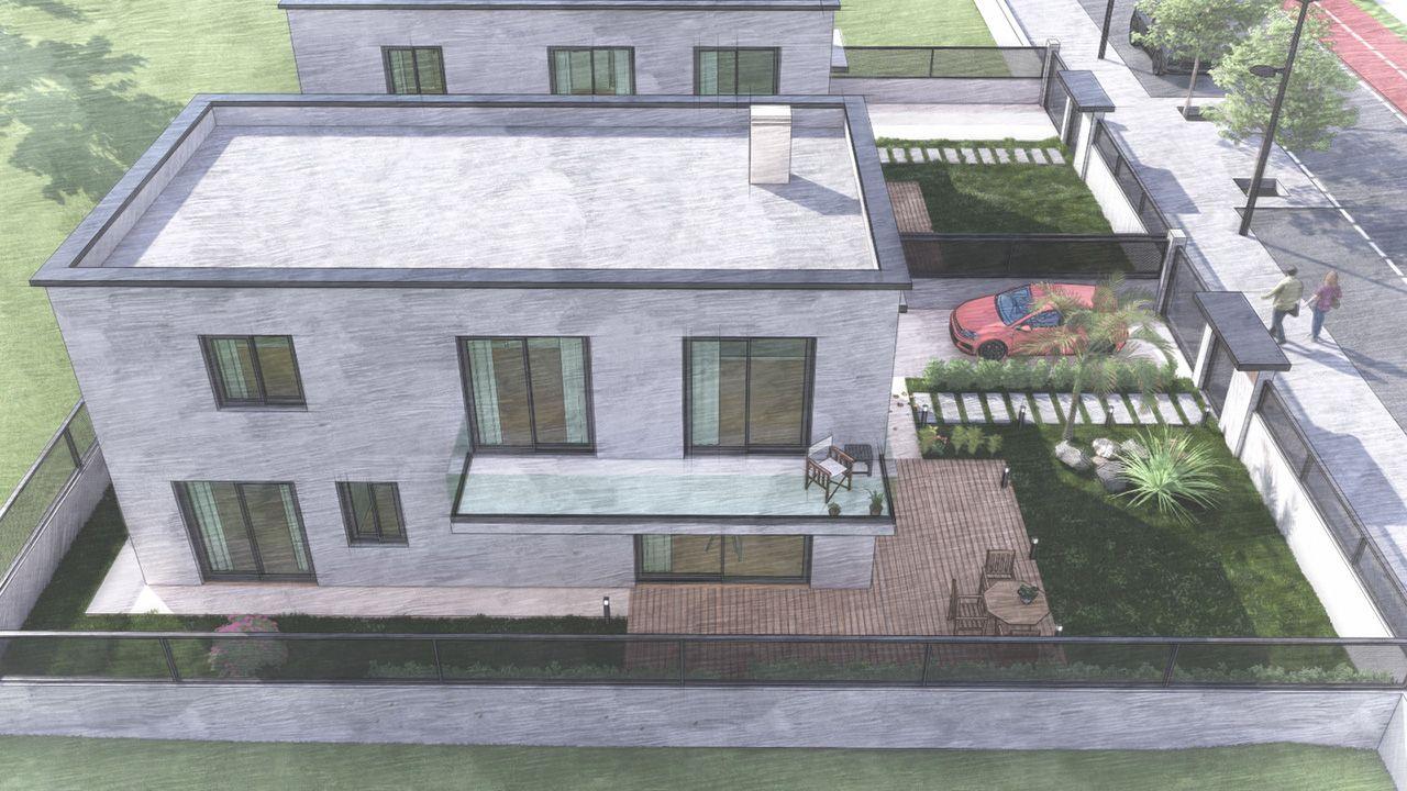 Modelos de chalés y pisos que diseña Arco da Vella, con luz y espacios al aire libre (3).jpeg