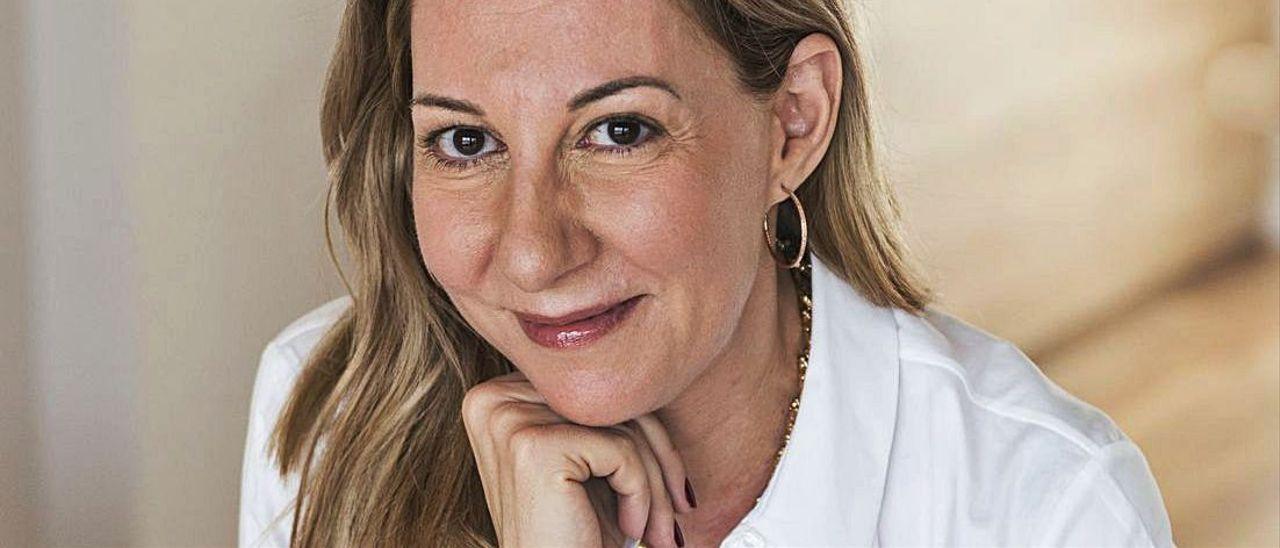 Eva García Sáenz de Urturi.