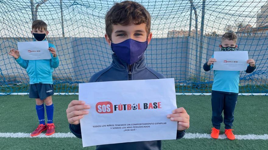 El fútbol base quiere competirsi Salud da su autorización