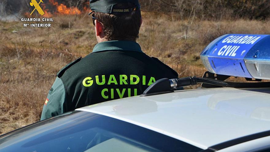 Investigan la autoría de dos incendios forestales en Toro y Aliste