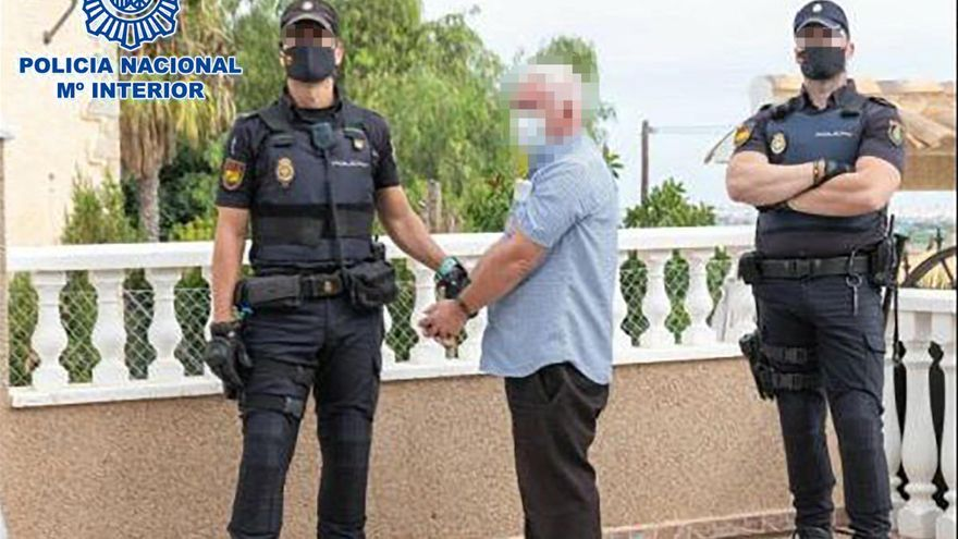 Desarticulada una peligrosa mafia irlandesa que operaba desde Orihuela Costa