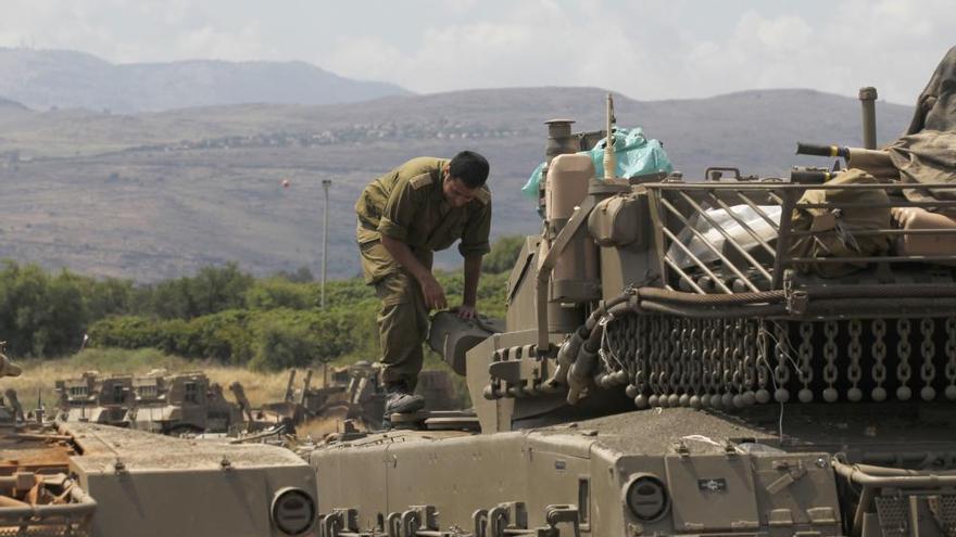 Israel ataca objetivos iraníes en Siria