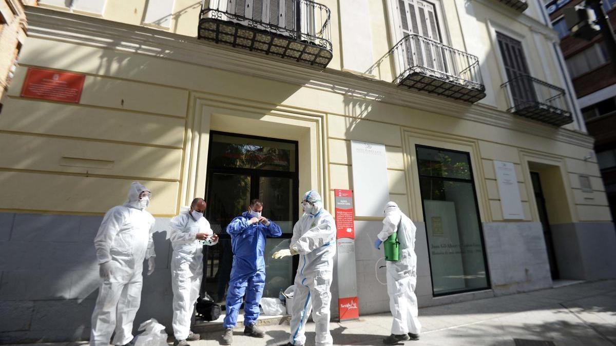 El Museo Ramón Gaya reabre el lunes tras ser desinfectado por un caso de covid