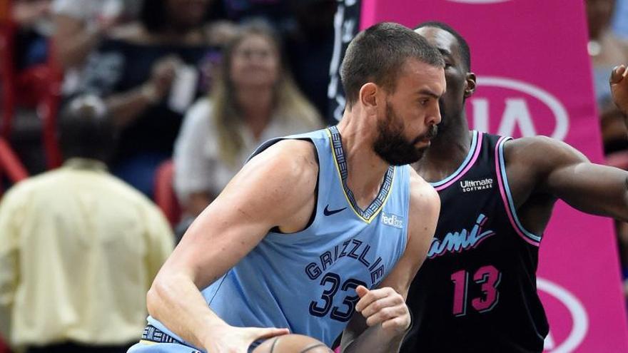 La buena actuación de Marc Gasol no evita una nueva derrota de los Grizzlies