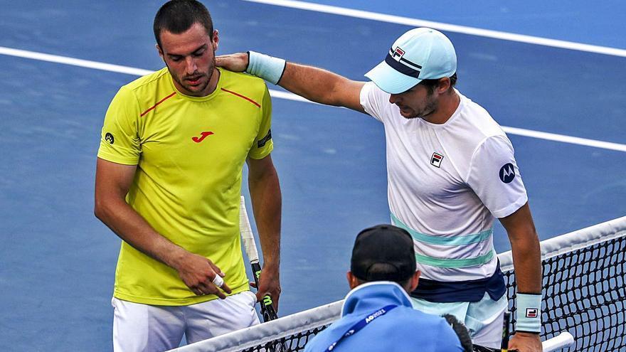 El serbio Lajovic apea al alzireño Pedro Martínez del      Open de Australia