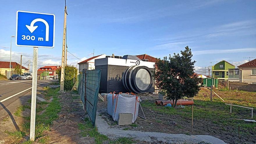 Una cámara gigante en O Gatañal