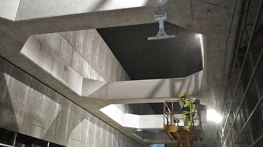 Iniciada la colocación de la catenaria del metro de Renfe a Atarazanas