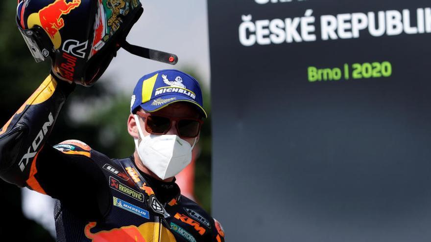 Binder, la sorpresa de la carrera de la República Checa