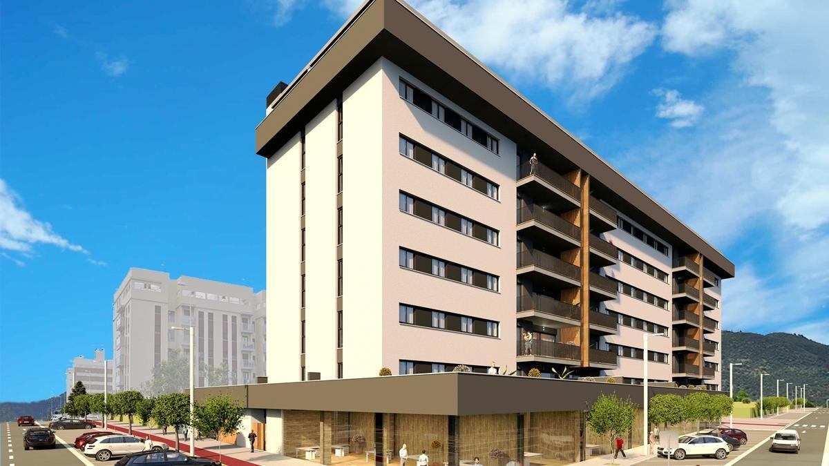 Residencial Los Nogales, un proyecto pionero en Córdoba los pies de Sierra Morena