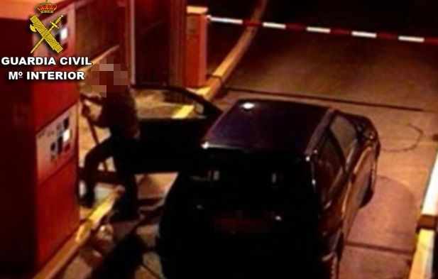 Imagen de uno de los asaltos.
