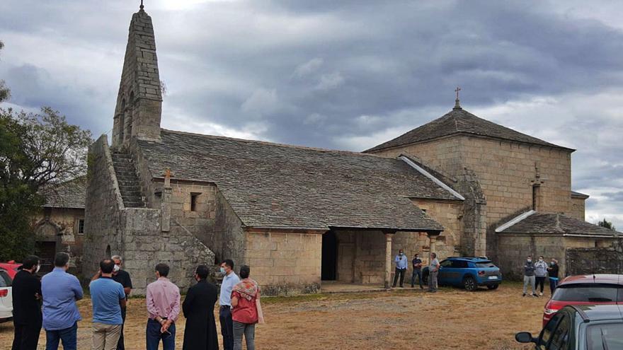 Terroso, una parroquia en el Camino