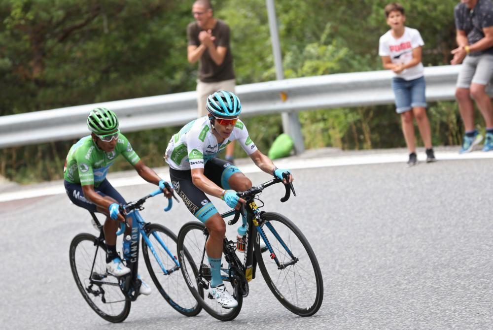 Las imágenes de la octava etapa de la Vuelta a España.