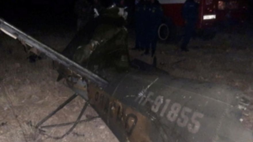 Azerbaiyán admite haber derribado un helicóptero militar ruso sobre Armenia