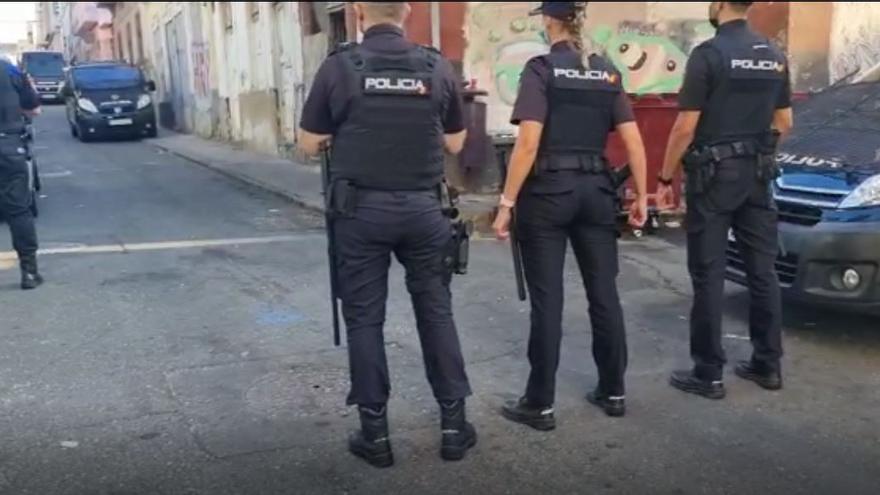 Cae el mayor punto de droga en Las Palmas de Gran Canaria (26/08/2021)