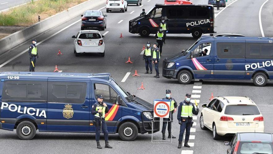Puig espera rebajar el cierre perimetral a partir de mayo
