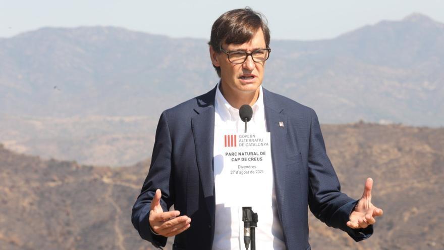Salvador Illa: «Els darrers deu anys han estat els pitjors dels últims 300 a Catalunya»