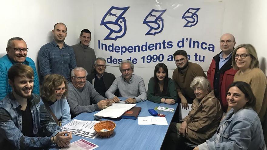 El veterano Àngel Garcia repite como candidato por INDI a la alcaldía de Inca