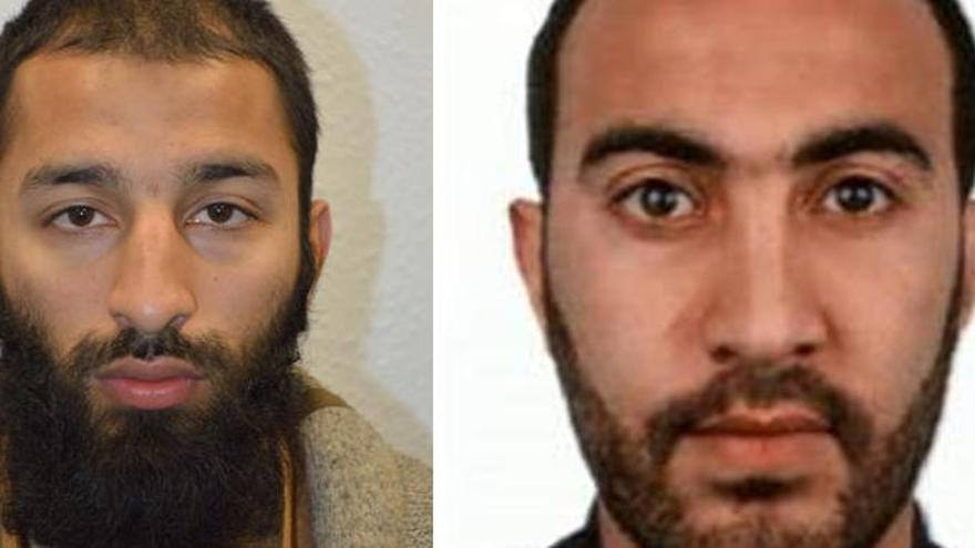 La Policia identifica dos dels terroristes de Londres