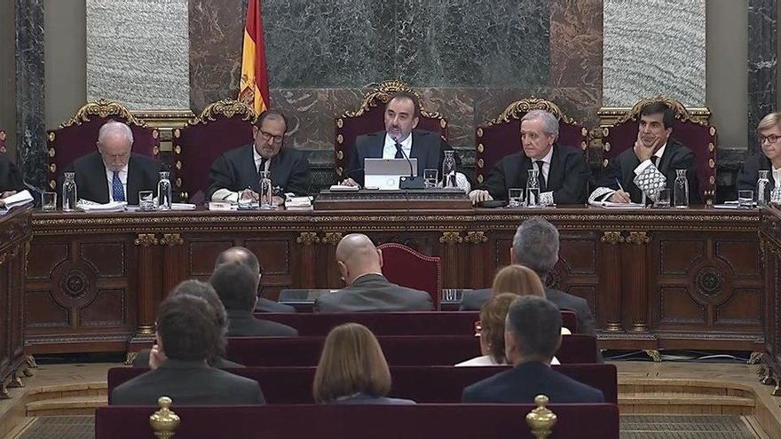 La fiscalía ultima el informe contrario a los indultos a los presos del Procés