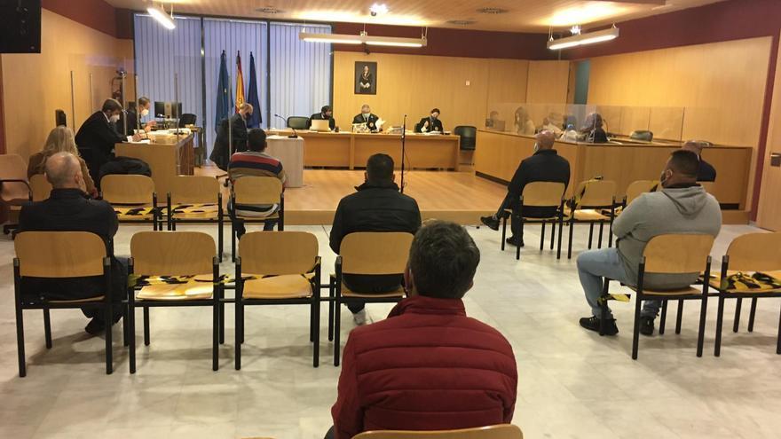 La banda criminal que suministraba droga a toda Asturias desde La Calzada se reparte 37 años de cárcel