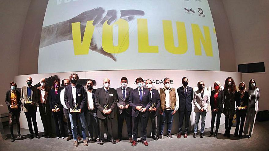 La Diputación premia a seis entidades por su «solidaridad» ante la crisis sanitaria