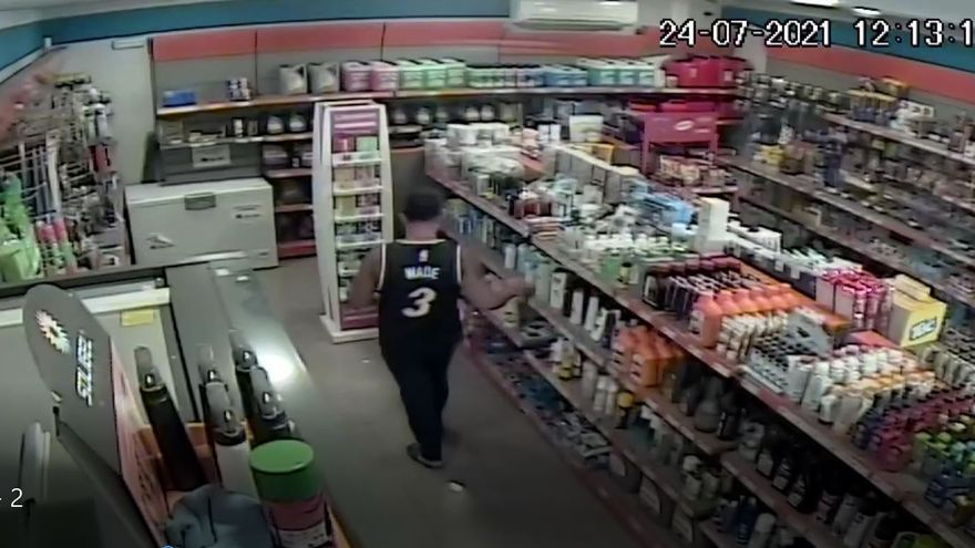 Enxampat per les càmeres robant en una benzinera de Sant Fruitós