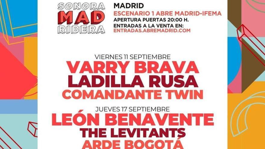 La edición en Madrid del Sonorama Ribera se aplaza hasta septiembre