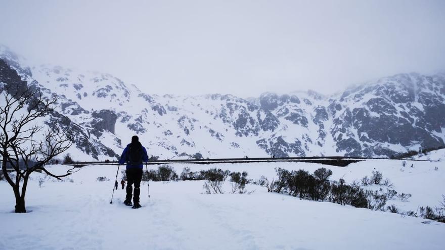 La nieve: de pesadilla a oportunidad en Somiedo
