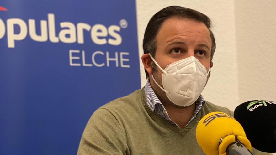 El PP exige al alcalde que informe a los ilicitanos sobre la nueva cepa del covid detectada en Elche