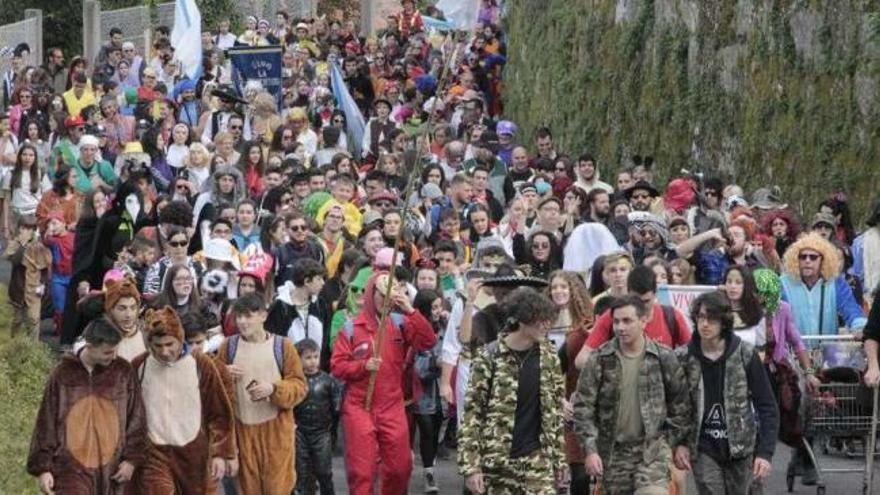 Carnaval Galicia 2019 | Las siete aldeas de Hío, fieles a su tradición del Entroido