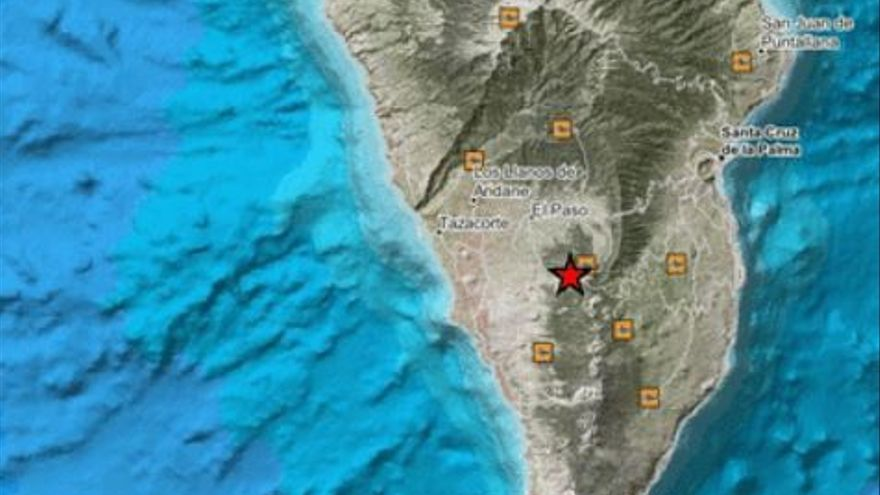 Involcan eleva a 4.2 el seísmo sentido en toda La Palma