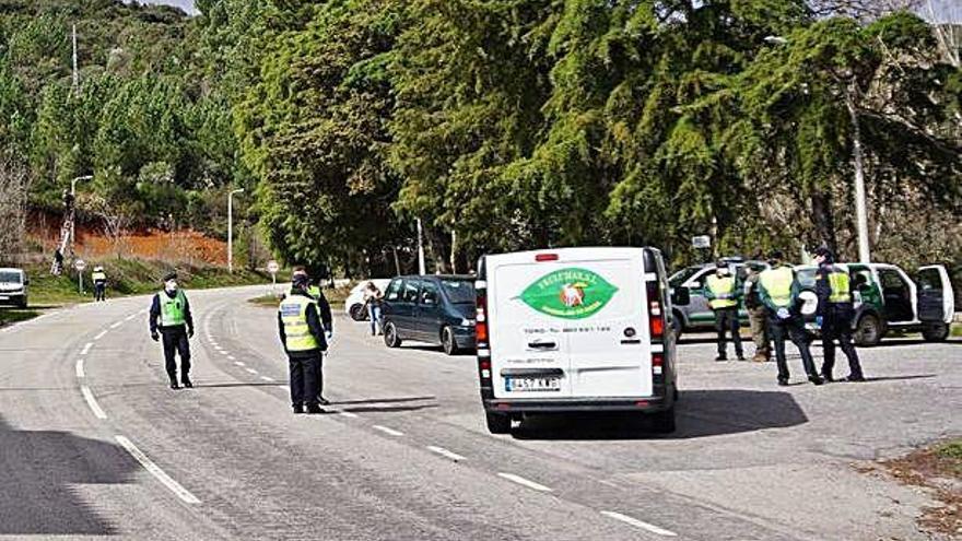 Portugal protege la frontera con Zamora con el bloqueo de los caminos campestres ante el coronavirus