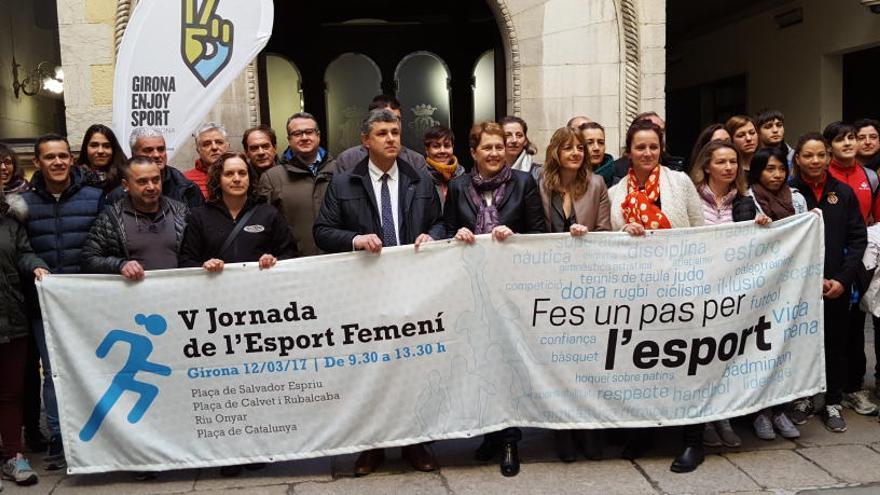 La Jornada de l'Esport femení proposa descobrir 19 disciplines al centre de Girona