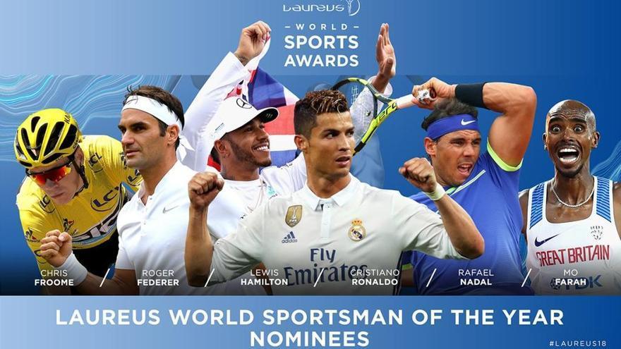 Nadal y Muguruza, nominados a los Premios Laureus