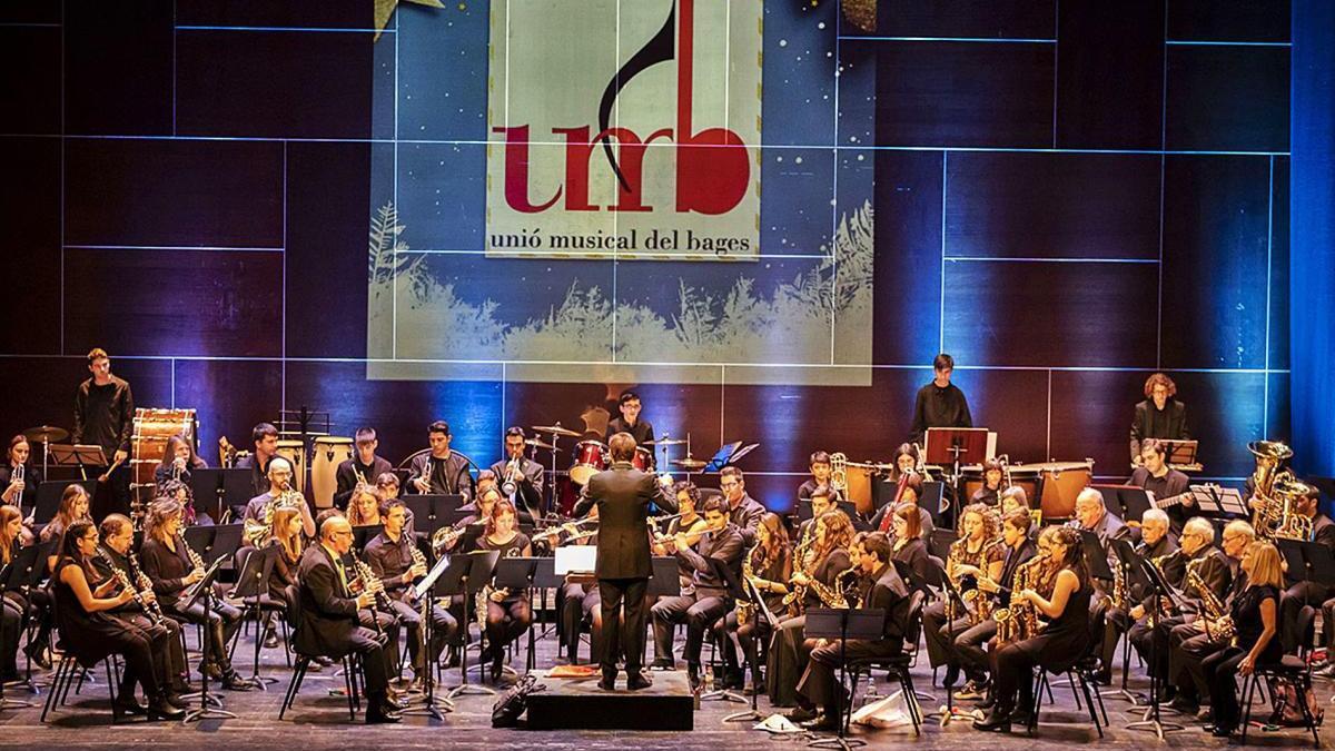 La Banda de la Unió Musical del Bages actuarà novament el primer dia de l'any al Kursaal i com és habitual, amb entrades exhaurides